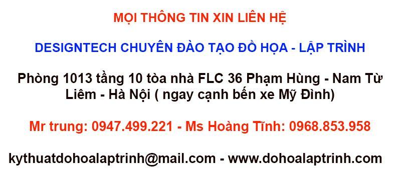 Khóa học photoshop tại Thanh Oai