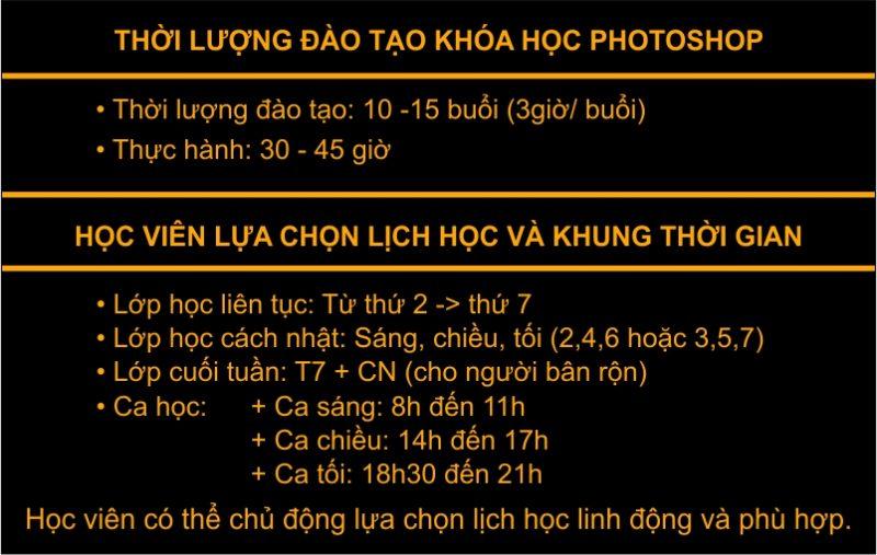Khóa học photoshop tại Ngọc Thụy Long Biên
