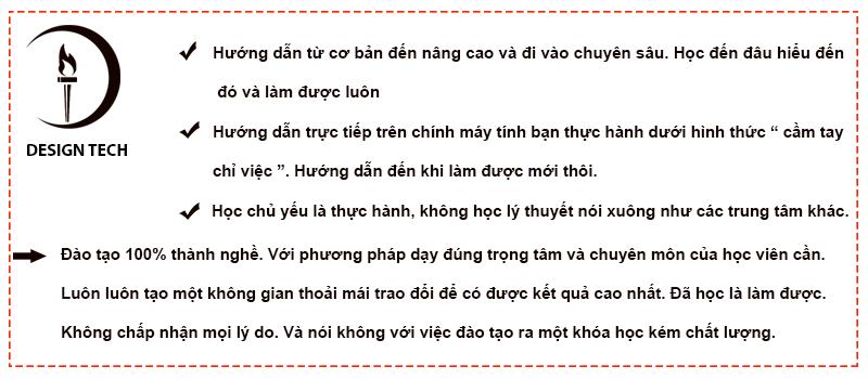Khóa học coreldraw tại Sóc Sơn Hà Nội