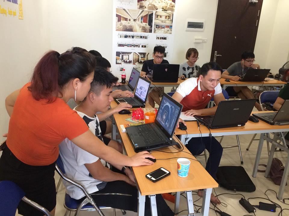 Học vẽ đồ họa kỹ thuật autocad tại Phú Xuyên