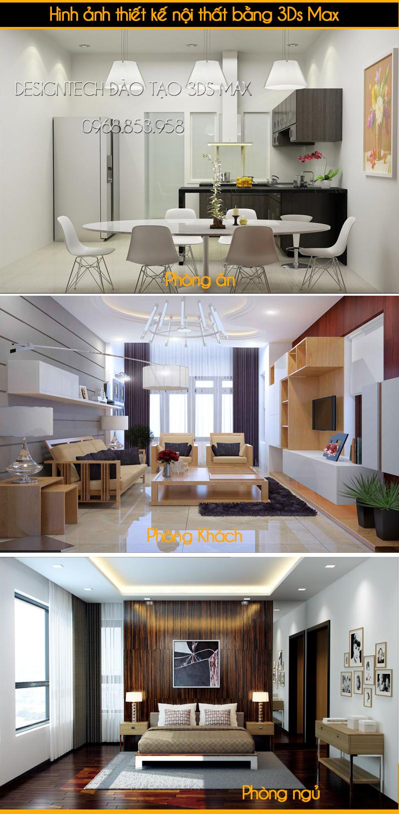 Khóa học dựng hình 3Dsmax và vray tại Hà Nội