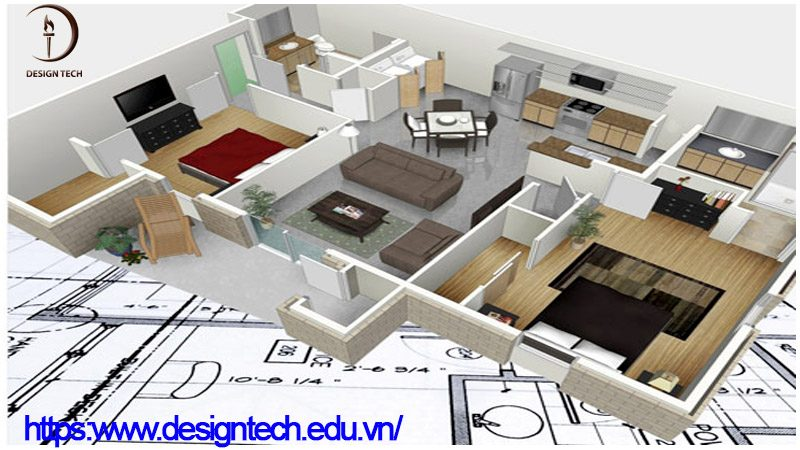 Học thiết kế nội thất và ngoại thất ở Hoài Đức