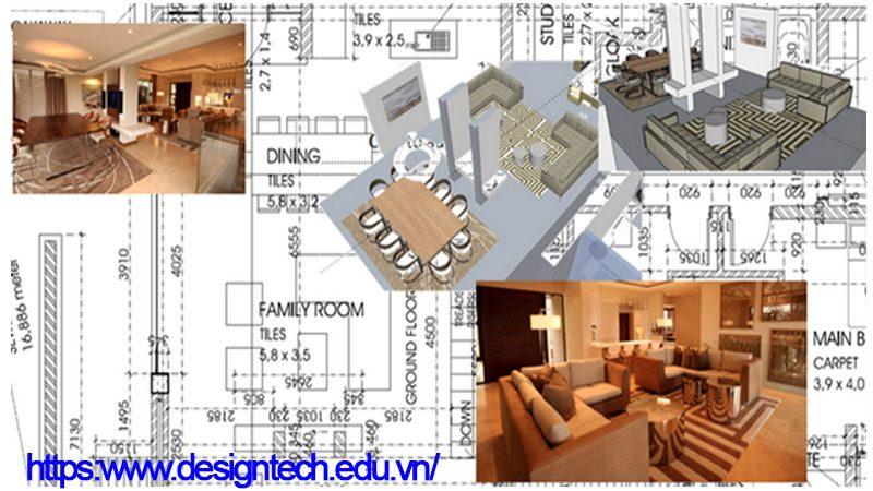 Hướng dẫn học thiết kế nội thất tại Đống Đa Hà Nội