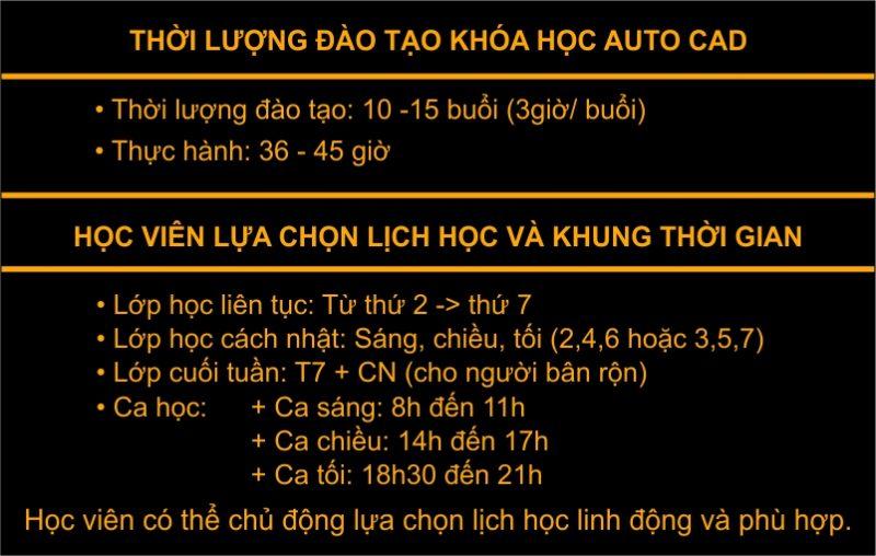 Khóa học Autocad ngắn hạn tại Hà Nội