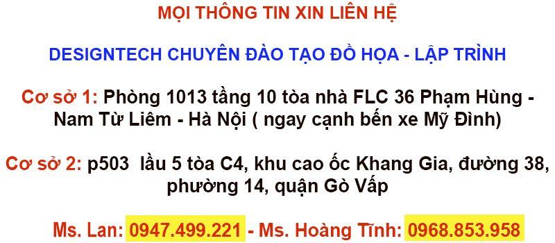 Khóa học thiết kế đồ họa tại Kiên Giang