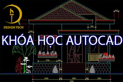 DESIGNTECH chuyên đào tạo autocad lĩnh vực cơ khí và xây dựng