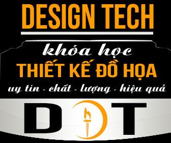 DESIGNTECH chuyên đào tạo thiết kế đồ họa quảng cáo in ấn toàn quốc