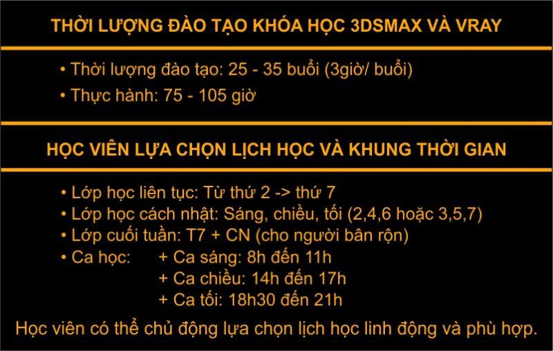 Khóa học dựng hình 3dsmax và vray tại Thường Tín