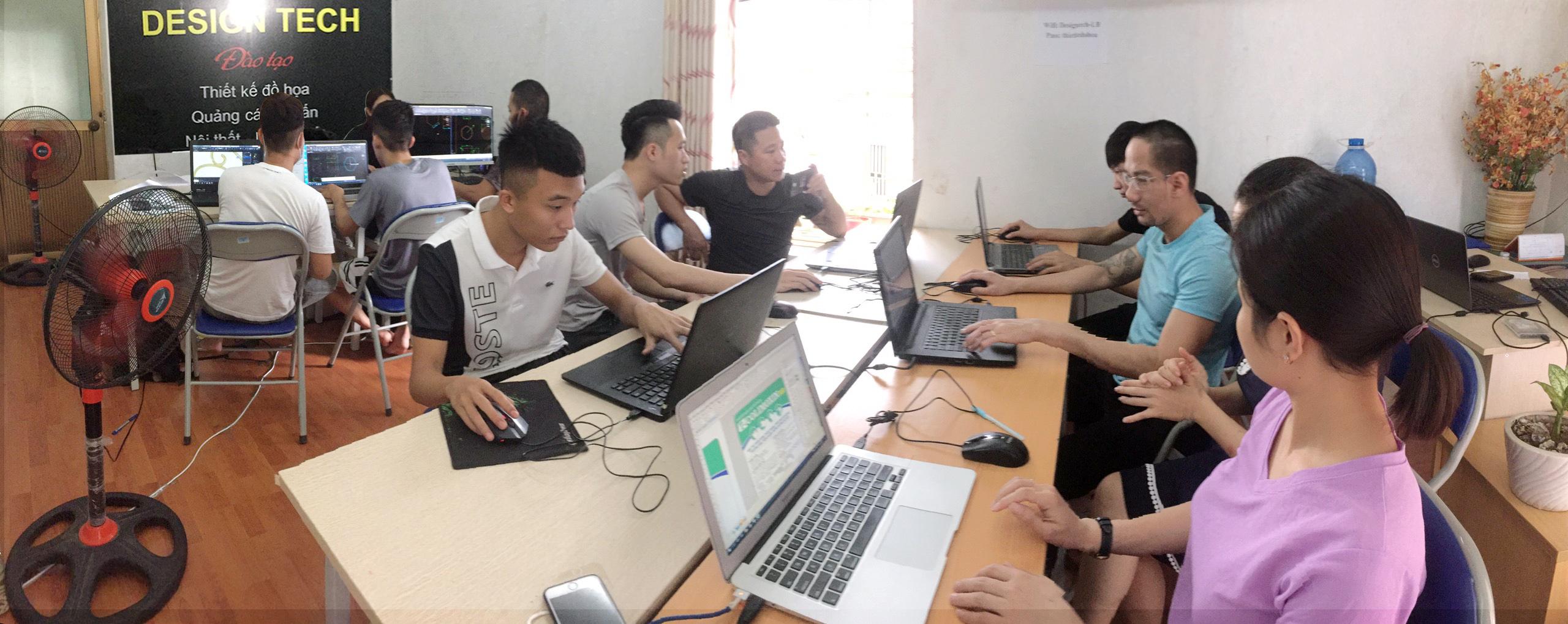 Học xử lý ảnh bằng photoshop tại Hà Nội